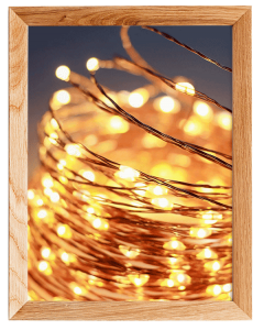 200 Led Indoor String Light With Remote And Timer On 69ft Clear String