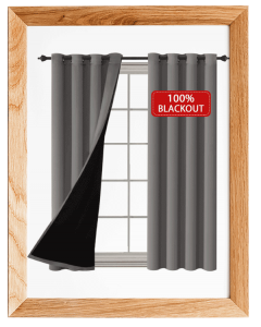 H.VERSAILTEX Thermal Insulated 100% Blackout Curtains